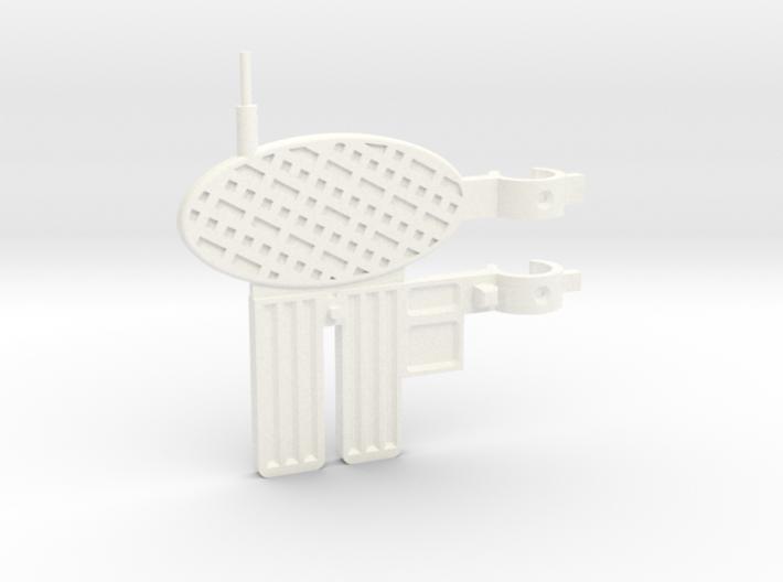 MOTUC Castle Grayskull Flagpole Antenna 3d printed