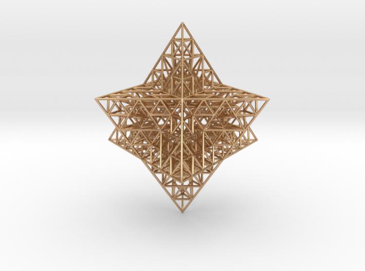 Sierpinski Merkaba Prism 3d printed
