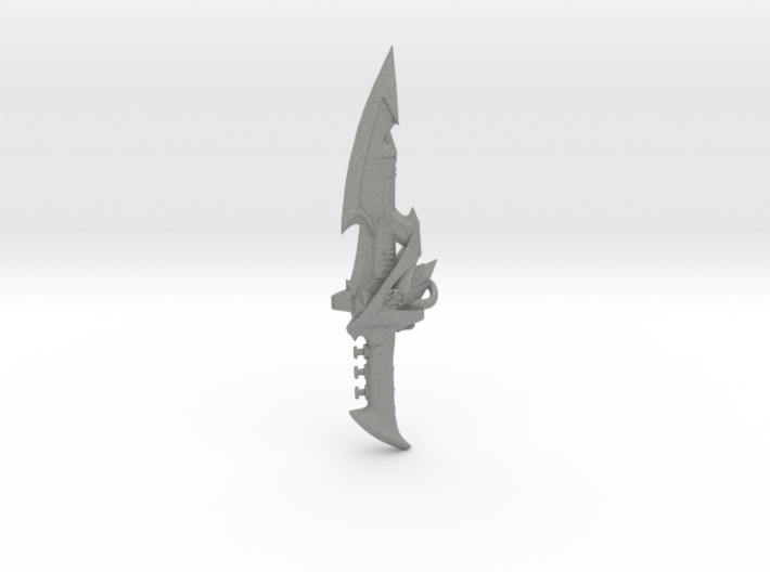 Psycho Dragon Dagger 3d printed