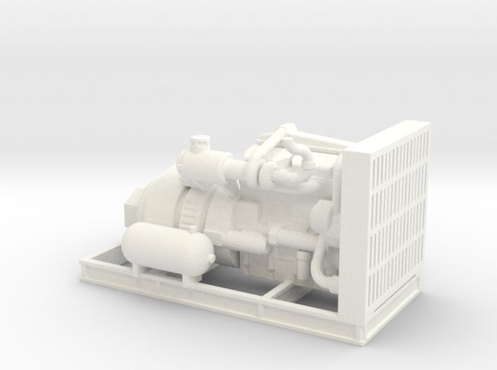 1/50th Engine for Thunderbird Swing Yarder 3d printed