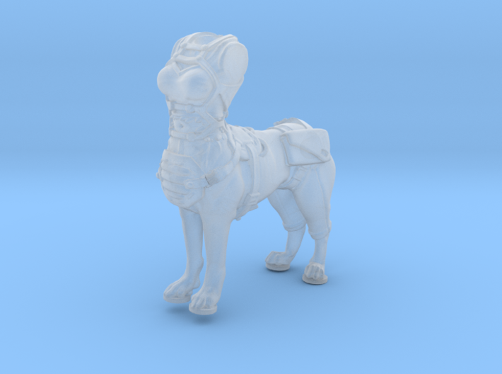 Anthropomorphic female light armor dog taur 2(HSD 3d printed