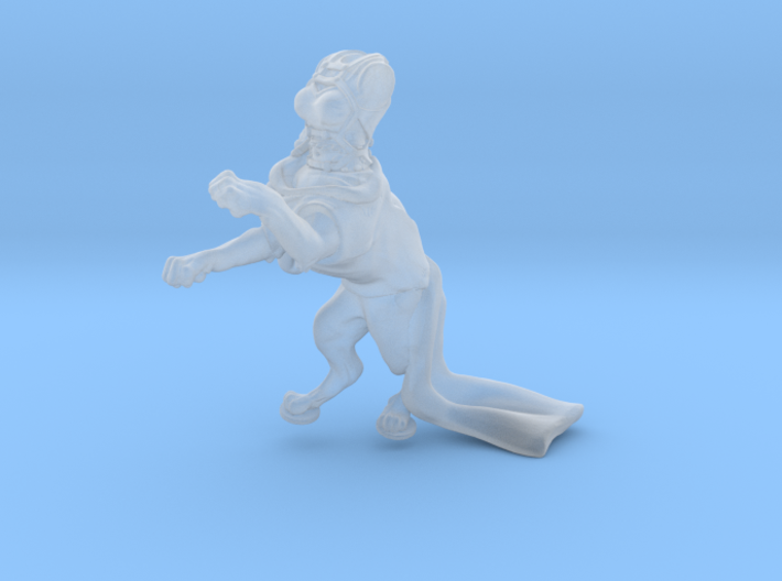 Anthropomorphic female light armor cat taur 1(HSD  3d printed