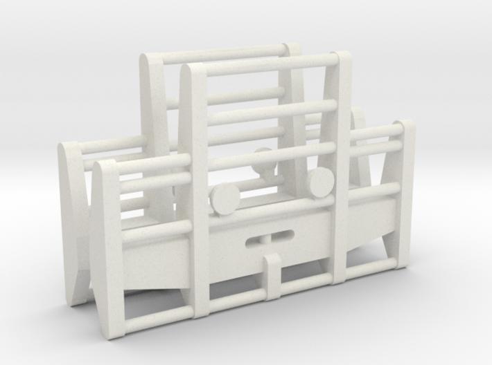 1-87 Scale Bull Bar x2 3d printed