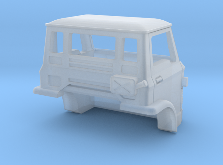 D Series Spare Cab N scale 3d printed