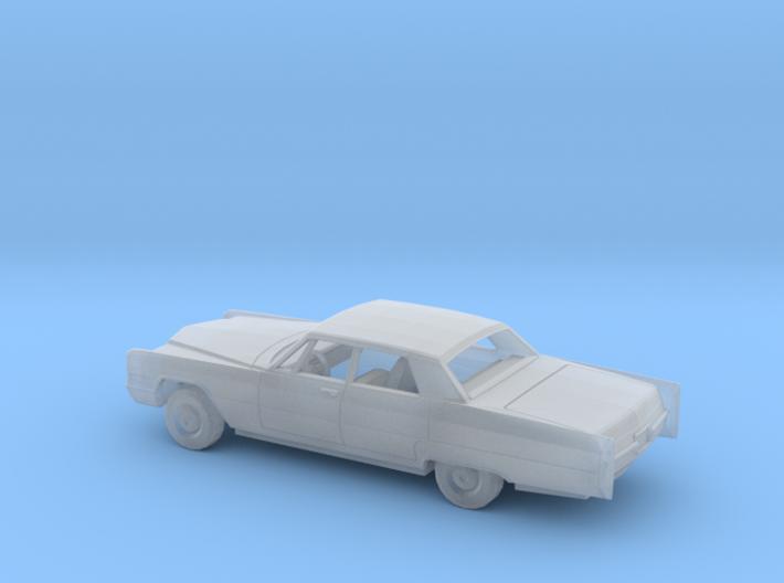 1/160 1966 Cadillac DeVille Sedan Kit 3d printed