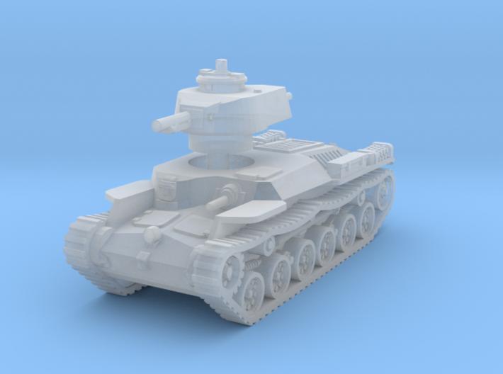 Chi-Ha Tank 1/220 3d printed