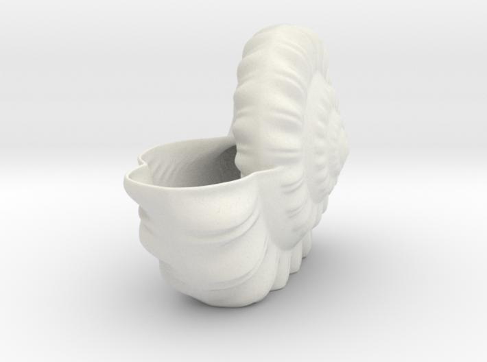 Shell Planter 3d printed