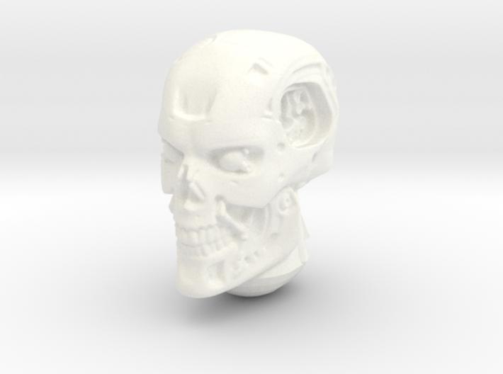 1/18 Terminator head 3d printed