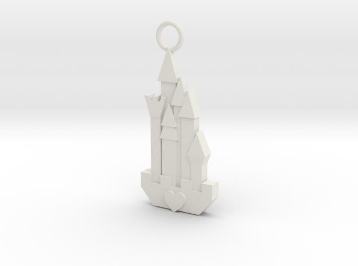 Cute Cosplay Charm - Fairytale Castle 3d printed
