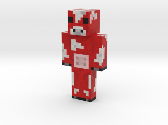 Koolaidcow   Minecraft toy 3d printed