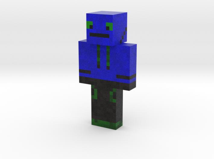 Zurtlelol   Minecraft toy 3d printed
