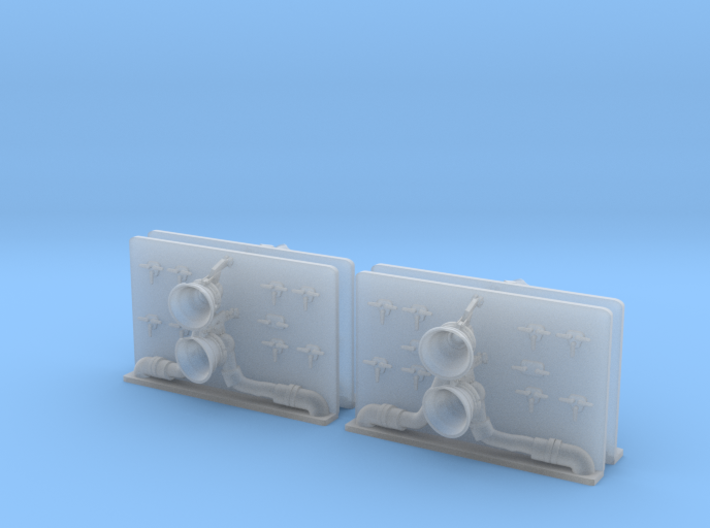 1/96 scale Lewis & Clark Refuel Inset 3d printed