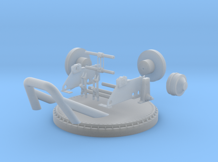 1/24 YTB Tugboat Ape Winch KIT 3d printed