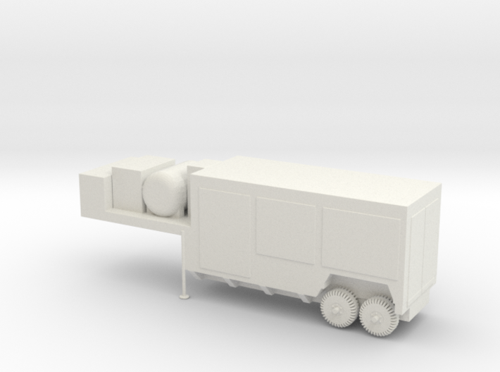 1/87 Scale Sergeant Command And Test Trailers 3d printed