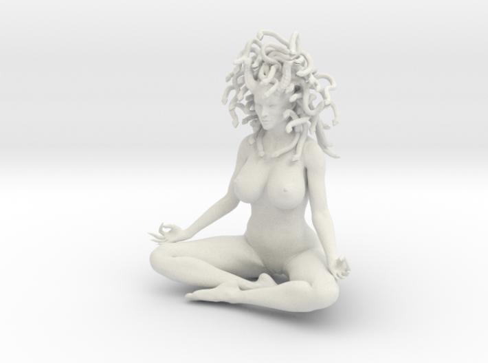 Medusa sitting 3d printed
