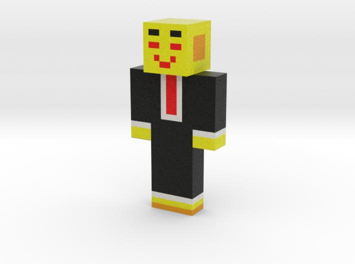 SAISEN_C   Minecraft toy 3d printed