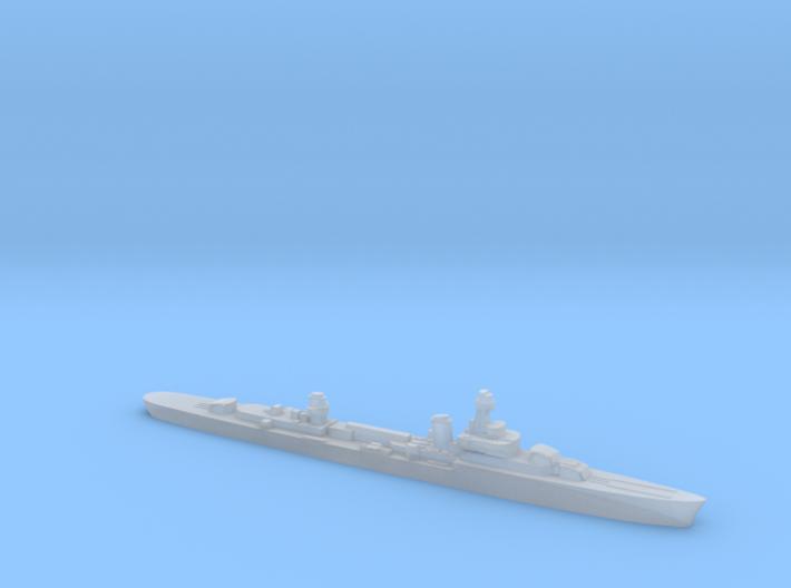 French cruiser Émile Bertin c1942 WW2 1:3000 3d printed