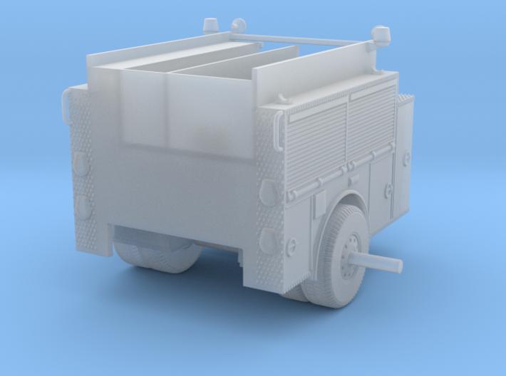 1/87 LA Engine Body Rollup Doors 3d printed