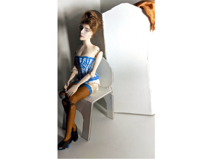 1/12 Dollhouse Doll Victorian Constance 3d printed