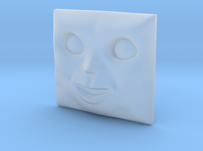 Rusty Face #1 [H0/00] 3d printed