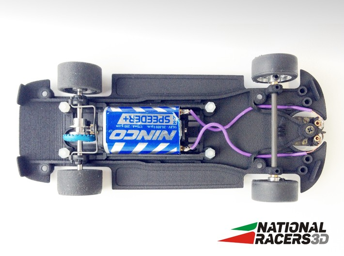 3D Chassis - Fly 320/MIII GTR (Inline) 3d printed