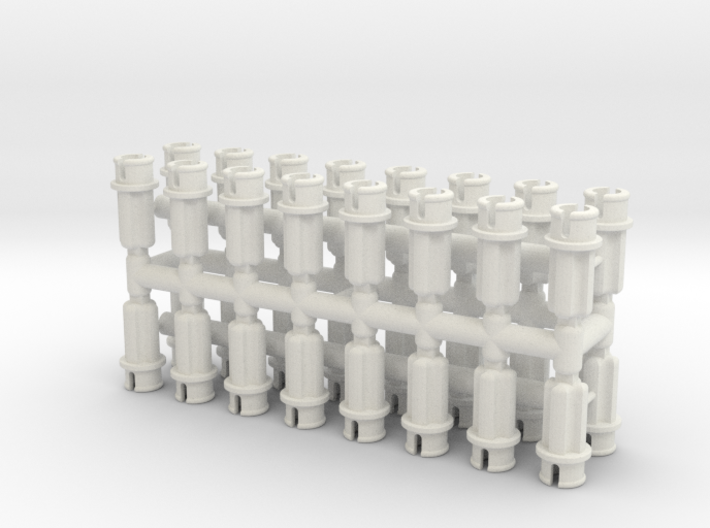 Custom Half Pin-to-Axle 3d printed