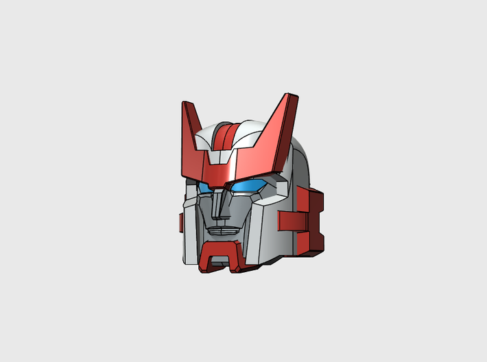 """Chief Medical Officer Head """"MTMTE"""" for Prime 3d printed"""