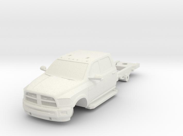 1/87 Dodge 4 Door Long Medic/Ambulance Chassis 3d printed
