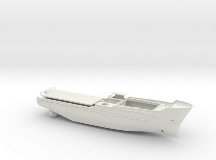 Apache fleet tug, Hull (1:144, RC) 3d printed