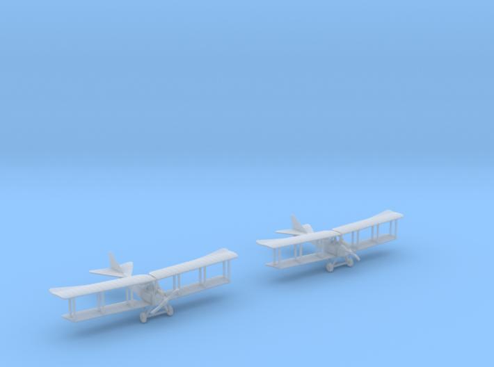 Albatros B.I (Mercedes D.I) 3d printed 1:288 Albatros B.I (x2) in FUD