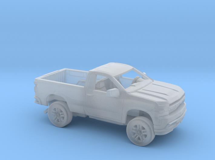 1/160 2019 Chevrolet Silverado Reg Cab Regular Bed 3d printed