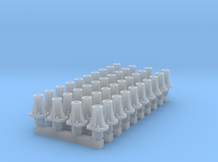 RCH Unfitted Wagon Buffer 7mm * 40 3d printed