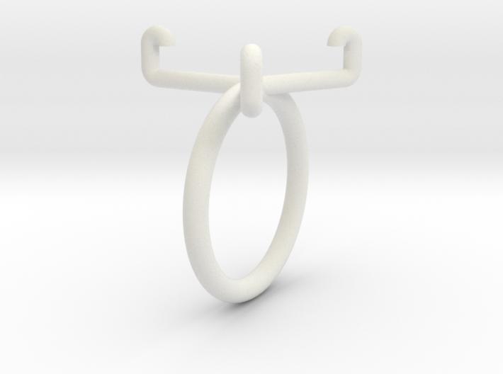 Euro-Ring - Size 9 - 1 euro 3d printed