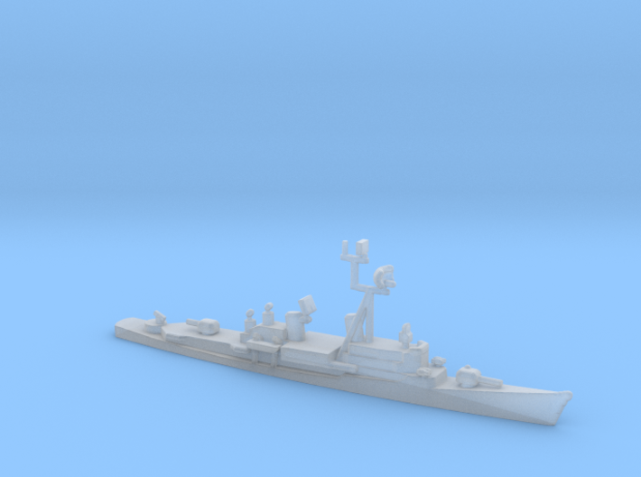 1/2400 Scale HMAS Perth Class Destroyer 3d printed