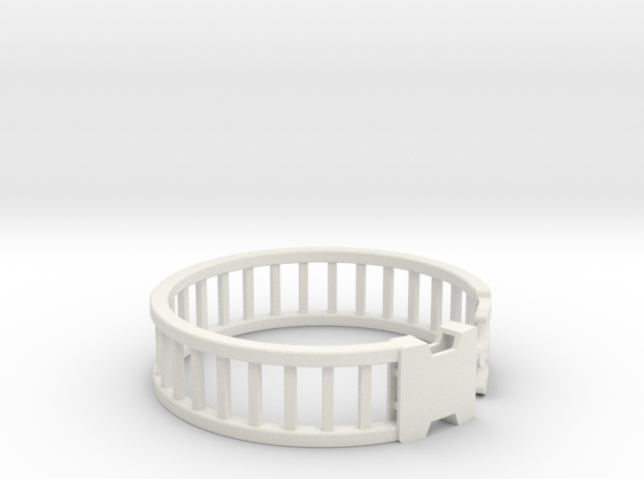 Latch Bracelet 2 3d printed
