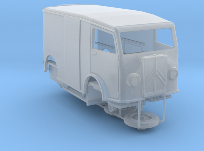 1:72 Citroen TUB van 3d printed