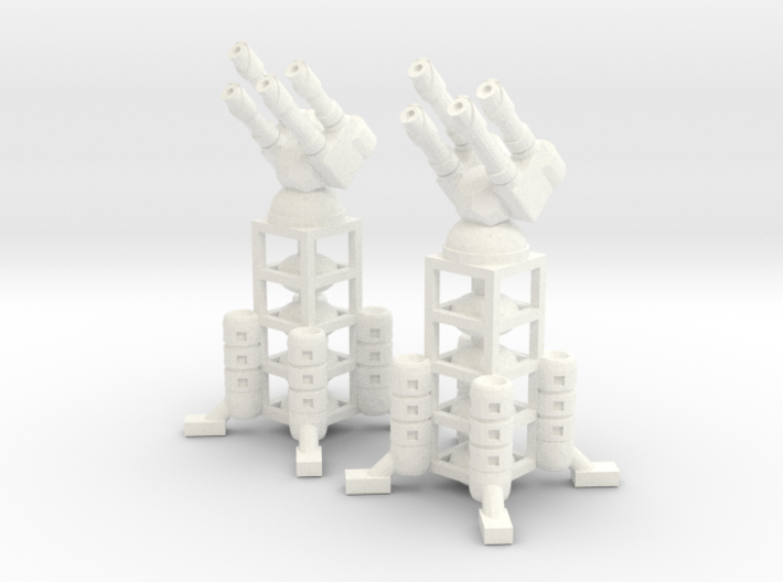 6mm - Colony Air Defense Tower 3d printed