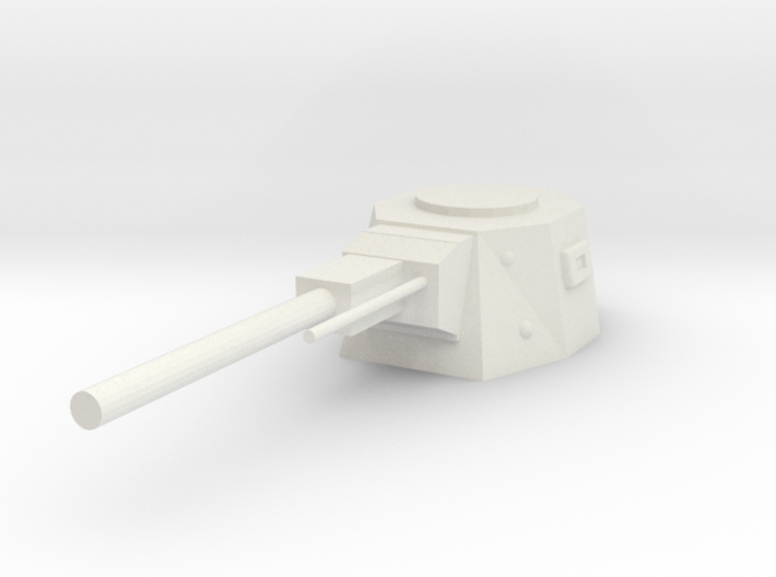 Turret Weapon 3d printed