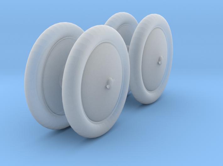 Duesenburg closed wheel set 1/25 3d printed