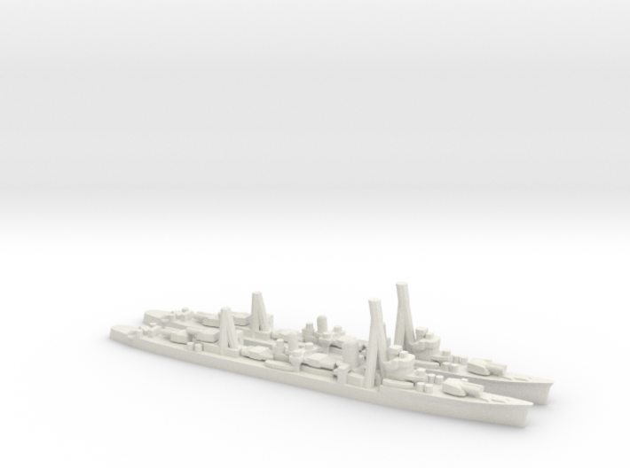 Japanese Kagero-Class Destroyer (x2) 3d printed