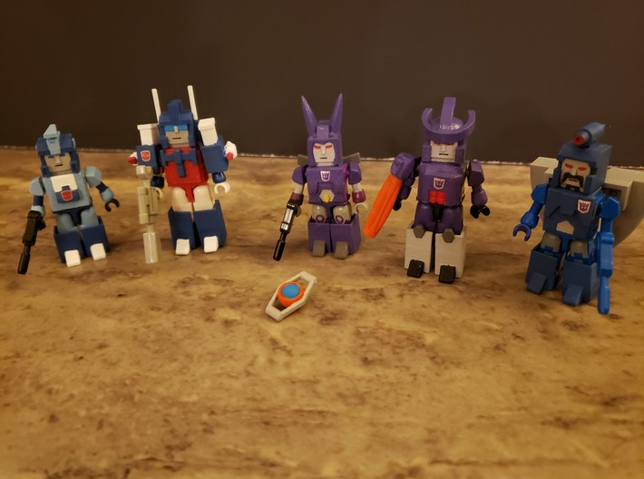 Heads for Sweep Kreons (Set 2 of 2) 3d printed Example of finished - painted