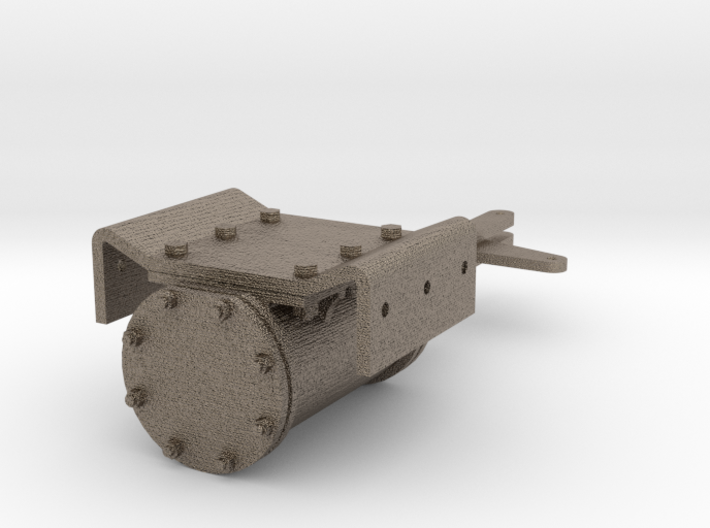 No. 23 - Tender Brake Cylinder .625 plus 1% 3d printed