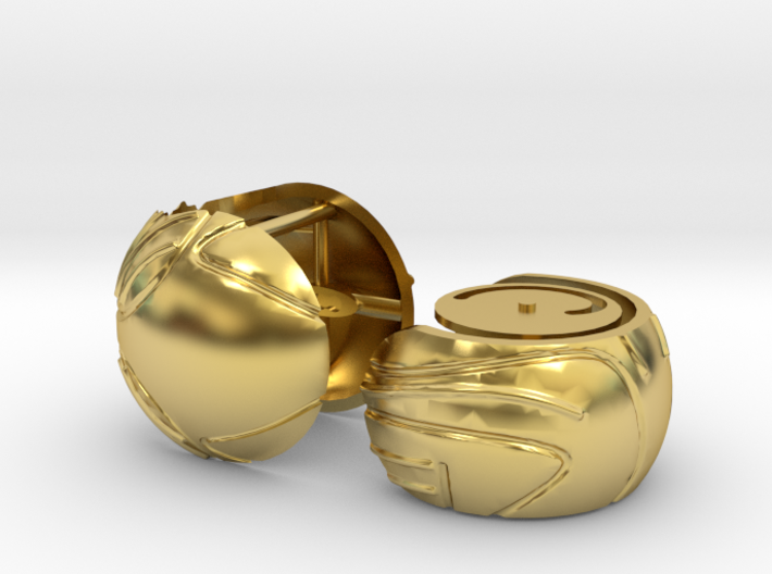 Harry's First Snitch Ring Box-Pt.1-Body-Cust. Text 3d printed