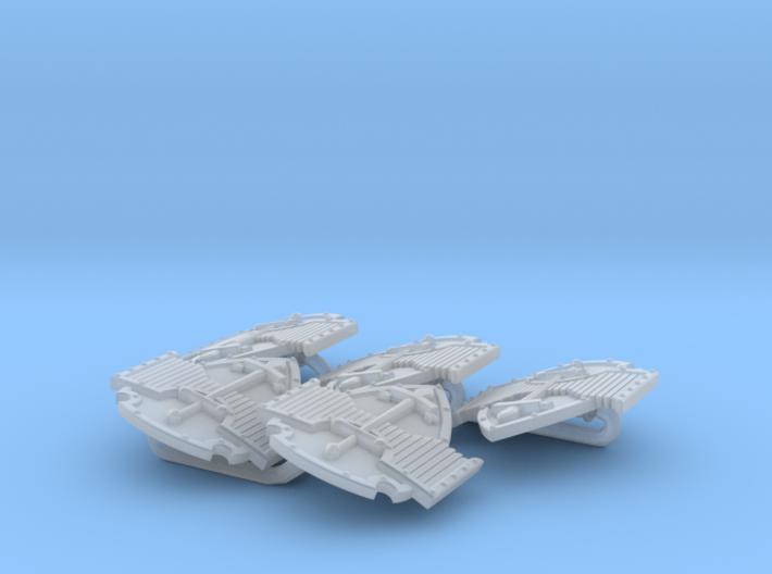 Raptores ptrn Energy Shield (Dark Wings) (left) 3d printed