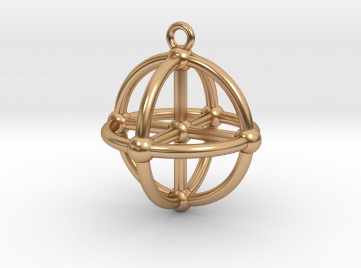 3D Medicine Wheel 3d printed