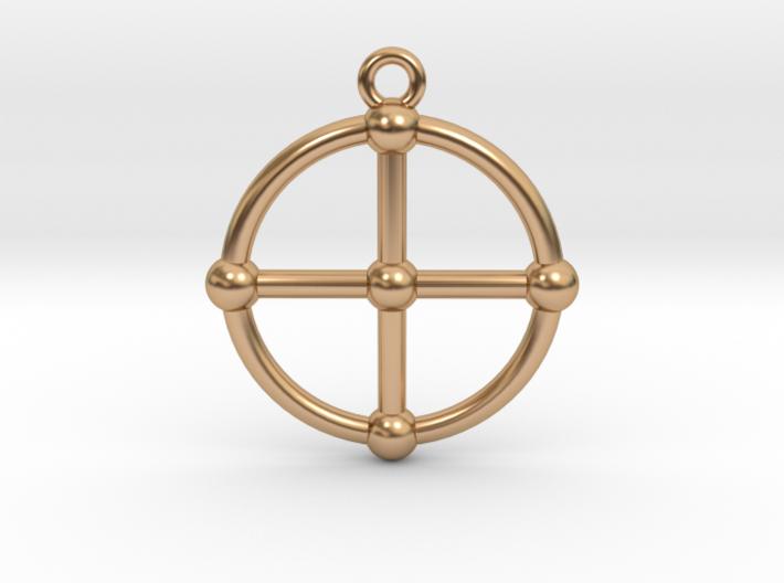 2D Medicine Wheel 3d printed