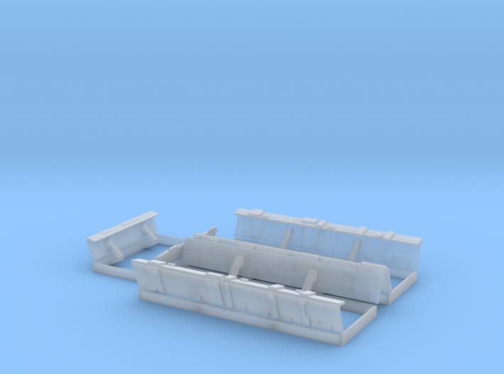 YT1300 MPC LANDING BAY DOORS SET 3d printed