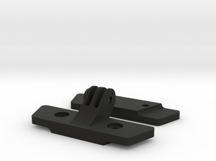 Saddle Rail to GoPro Mount 3d printed