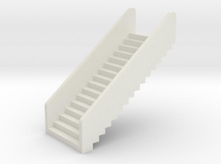 N Scale Stairs H20 3d printed