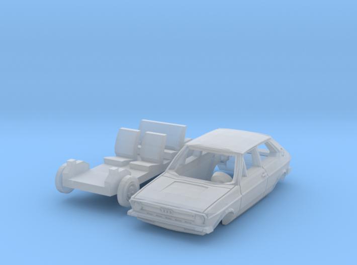 Audi 50 (TT 1:120) 3d printed